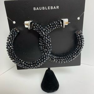 BaubleBar Blue/Black Earrings